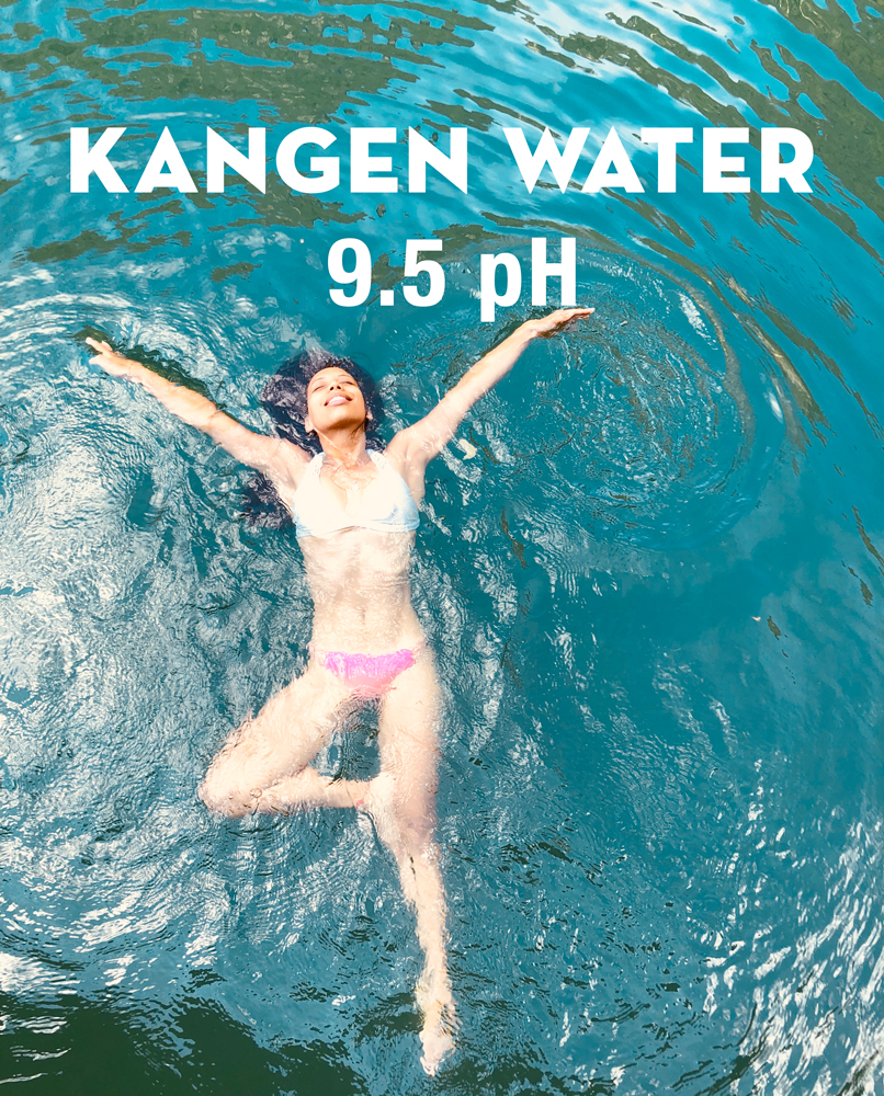 how to use kangen water